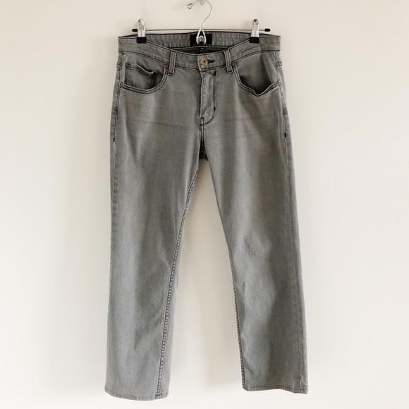 pipigo Mens Straight Leg Stretchy Summer Slim Denim Shorts Jeans
